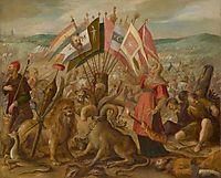 Allegorie on the battle of Braşov, 1604, aachen