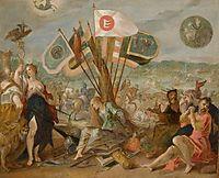 Allegorie on the battle of Gurăslău, 1604, aachen