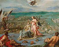 Allegory on the battle of Sisak, 1604, aachen