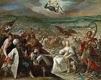 Allegory on the conquest of Stuhlweißenburg (Székesfehérvár), 1604, aachen