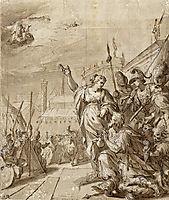Augustus and the Tiburtine Sibyl, 1580, aachen
