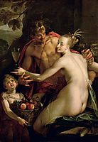 Bacchus, Ceres and Amor, 1600, aachen