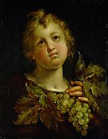 Boy with grapes, 1605, aachen