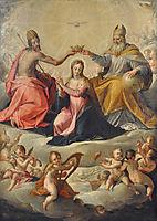 Coronation of Mary, 1596, aachen