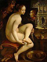 David and Bathsheba, 1615, aachen