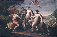 The judgment of Paris, 1588, aachen