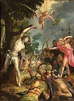 Martyrdom of Saint Sebastian, 1590, aachen