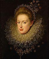 Portrait of Anna of Austria (1585-1618), 1604, aachen
