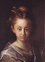 Portrait of a girl (Maria Maxmiliana), 1612, aachen