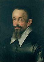 Portrait of a man, possibly Johannes Kepler, 1612, aachen