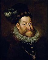 Portrait of Rudolf II, Holy Roman Emperor, 1608, aachen