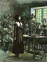 Anne Hutchinson on Trial, 1901, abbey