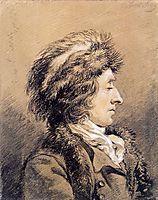Man with fur hat, abrahamvanstrij