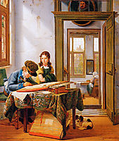 The young draughtsman, abrahamvanstrij
