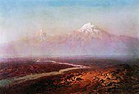 Araks River and Ararat, 1875, aivazovsky