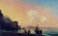 Bay of Naples, 1845, aivazovsky