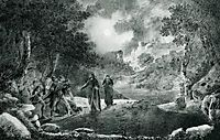 The Betrayal of Judas, 1834, aivazovsky