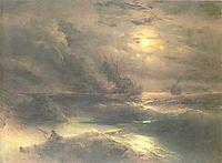 Cristofor Columb, 1875, aivazovsky
