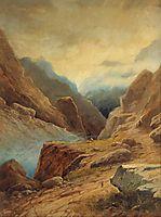 Darial Gorge, 1891, aivazovsky