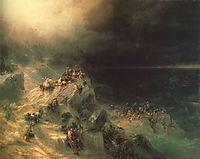 Deluge, 1864, aivazovsky