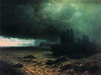 Downpour in Sudak, 1897, aivazovsky