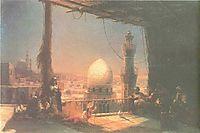In Cairo, 1881, aivazovsky