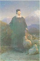 Katolikos Hrimyan near Emiadzin, 1895, aivazovsky