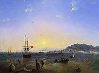 Kerch, 1839, aivazovsky