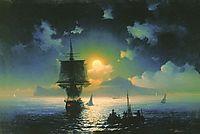 Lunar night on Capri, 1841, aivazovsky