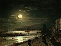 Moon Night, 1885, aivazovsky