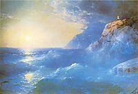 Napoleon on island of St. Helen, 1897, aivazovsky