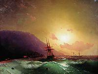 Near coast of Yalta, 1864, aivazovsky