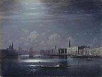 Night landscape. Venice, aivazovsky
