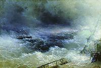 Ocean, 1896, aivazovsky