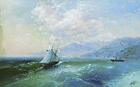 On the coast, 1875, aivazovsky