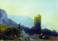 On the way to Yalta, 1860, aivazovsky