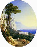 Oreanda, 1858, aivazovsky