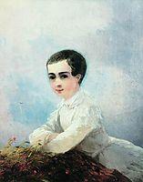 Portrait of I. Lazarev, 1851, aivazovsky
