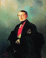 Portrait of Senator Alexander Ivanovich Kaznacheyev, 1848, aivazovsky