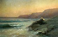 Pushkin on the coast Black Sea, 1887, aivazovsky