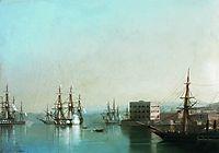 Raid on Sevastopol, 1852, aivazovsky