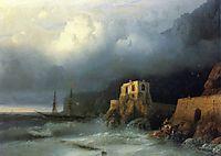 The Rescue, 1857, aivazovsky