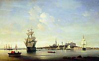 Reval , 1844, aivazovsky