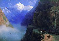 Roads of Mljet to Gudauri, 1868, aivazovsky