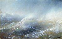 Sea view , 1895, aivazovsky