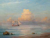 Sea view , 1899, aivazovsky