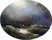 Sea view , 1900, aivazovsky