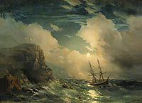 Seascape, 1856, aivazovsky