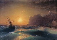 Seascape. Koktebel., 1889, aivazovsky