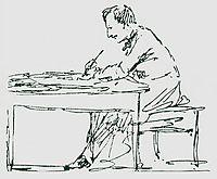 Self-portrait , 1880, aivazovsky